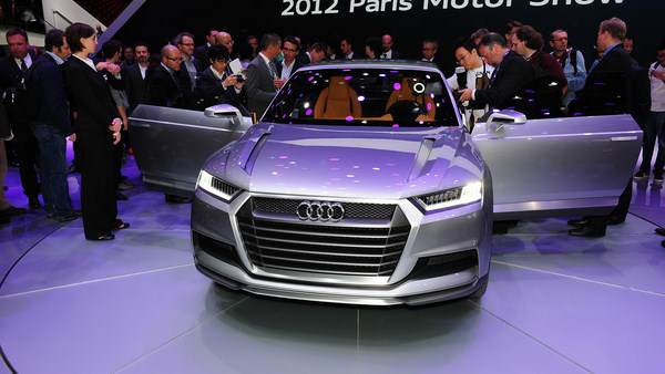 Audi crosslane coupe plug-in hybrid Paris2012